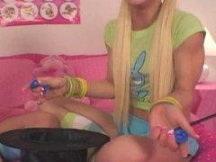 blonde teen magicians