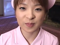 japanese nurse cumbrushing
