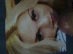 Cum on face beauty blonde