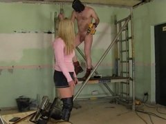 Harsh caning by mistress Nikki