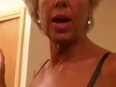 Mature - Granny with black boy