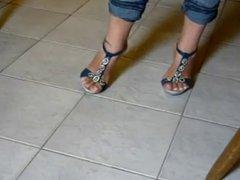Foot fetish, Stilettos, Platform Shoes, High Heels 22