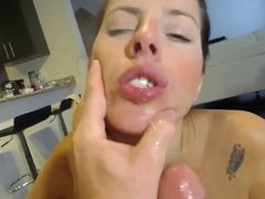 Pounding her Asshole HARD & Cumming All over her Face