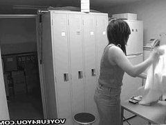 Lockerroom Spying By Hidden Camera