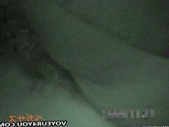 Infrared Camera Shot Two Couples Sex In Car