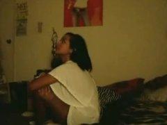 Asian slut sucks her boyfriend