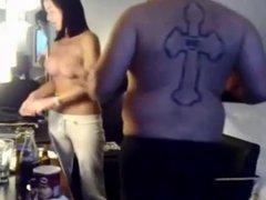 Hot homemade sextape