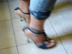 Foot fetish, Stilettos, Platform Shoes, High Heels 24