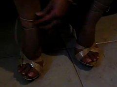 Foot fetish, Stilettos, Platform Shoes, High Heels 31