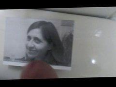 Cum tribute on my beatiful former girld friend pic
