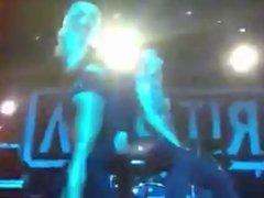 Rita Ora gives lapdance to fans