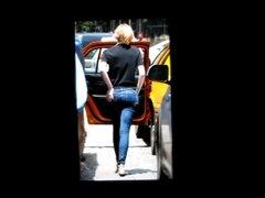 Emma Stone's ass cum tribute