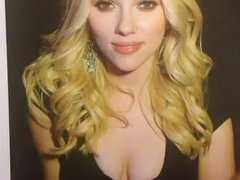 Scarlett Johansson - Cum tribute
