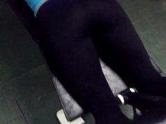beautiful ass in leggings