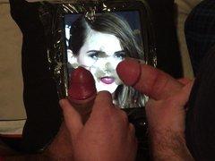 Emma Watson Double Cum Tribute