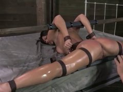 BDSM fuck on bed