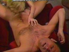 Alex Storm, Chessie Moore, Racquel Darrian in classic sex