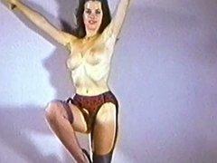 THE GARDEN OF EDEN - vintage striptease nylons stockings