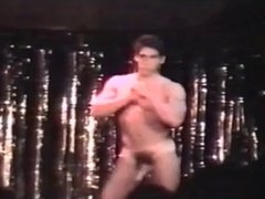 Hot nude male show on stage