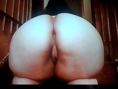 Hot Spicy Cum Tribute for this Big Fat Curvy Juicy Yummy Ass