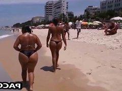 Sexy Mom on the Beach