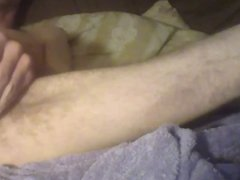Skinny guy fucks himself with his own dick