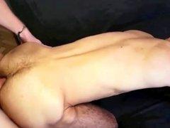 Arab Boy gets Raw Huge Dad's Cock