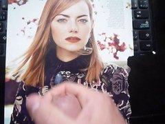 Emma Stone cum tribute 2