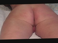 homemade, grandpa works granny's ass with fingers and dildo