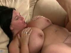 He cheating on wife with huge titted plumper