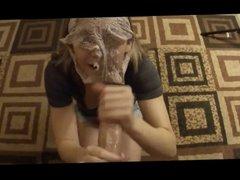 Teen Handjob #11 Panties-Face