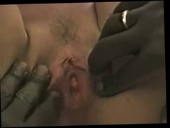 Wife takes 2 black cocks