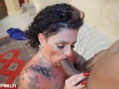 BBW Erika Xtasy Fucks A Big Black Cock