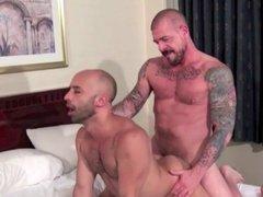 Teasing daddy's HUGE cock