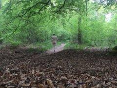 Naked walking path.