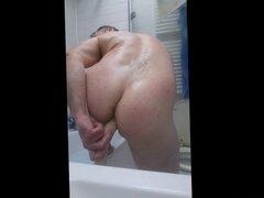 dildo in bath