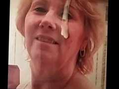 Facial for sexymilf