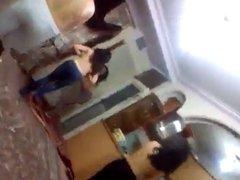Nude dancing - girls having fun