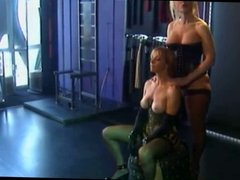 sensual lesbian bondage