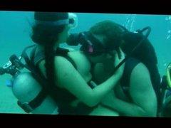 Scuba threesome pt.1