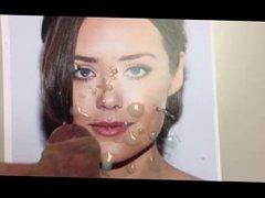 Cum Tribute - Megan Boone