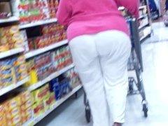 Granny Got A Jiggly Huge Ass!