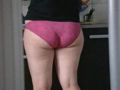 culotte rose PAWG vid05