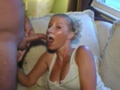 Wanking-off on Her #41 Cumplay, Swedish Couple