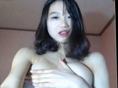 Sexy Korean webcam tease 1
