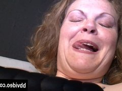Fat german milf masturbating