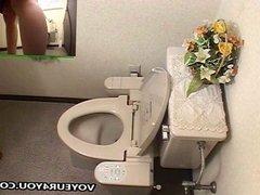 Private Dorm Toilet Masturbation