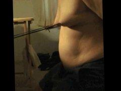 Self Nipple Torture