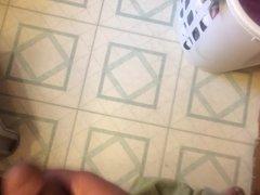 Cumshot before my shower