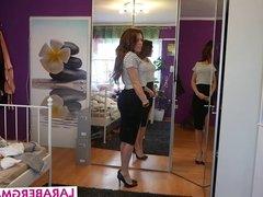 DEUTSCHES Amateur Girl Lara Bergmann aus Duesseldorf Webcam